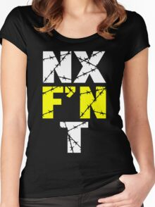 N X F'N T Women's Fitted Scoop T-Shirt