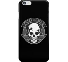 -METAL GEAR SOLID- Outer Heaven iPhone Case/Skin