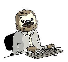 Office Sloth by AaronWardell