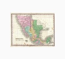 Vintage Map of Mexico (1827) Unisex T-Shirt