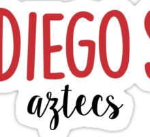San Diego State University Sticker