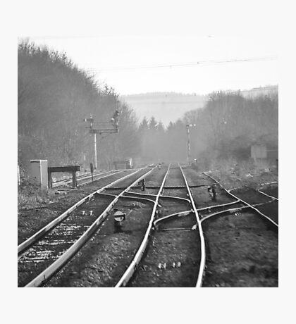 Tracks Photographic Print
