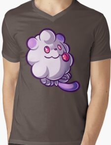 Pastel Swirlix Mens V-Neck T-Shirt