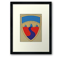 304th Sustainment Brigade (United States) Framed Print