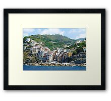 Cinque Terre : Riomaggiore Framed Print