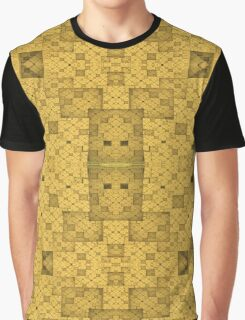 Yellow Squares Graphic T-Shirt