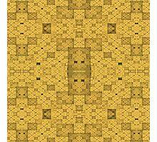 Yellow Squares Photographic Print