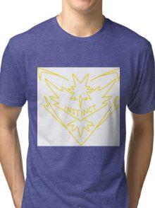 Pokemon Go Team Instinct Tri-blend T-Shirt