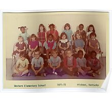 1971-1972, WESTERN ELEMENTARY SCHOOL, HICKMAN, KENTUCKY Poster