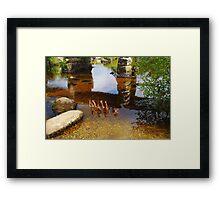 Postbridge Reflections Framed Print