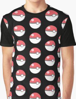 Pokeball red! Graphic T-Shirt