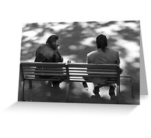 Everyday Life in Lyon Greeting Card