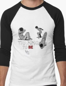 manga punch Men's Baseball ¾ T-Shirt