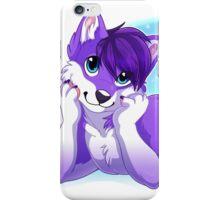 Purple Husky  iPhone Case/Skin