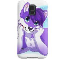 Purple Husky  Samsung Galaxy Case/Skin