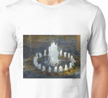 Fountain of water Unisex T-Shirt