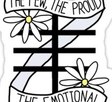 Few/Proud/Emotional Sticker