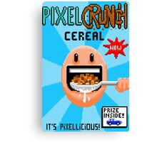 Pixel Crunch Cereal Canvas Print