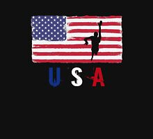 USA Swimming 2016 competition freestyle funny t-shirt Unisex T-Shirt