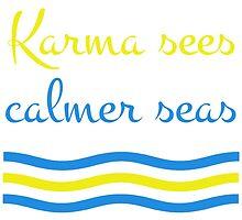 Karma Sees Calmer Seas by Andrew Alcock