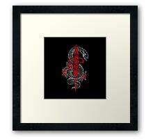 Cloak and Dagger Framed Print