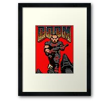 Doom Game 1 Framed Print