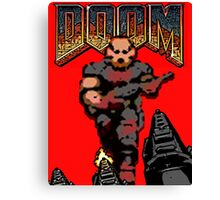 Doom Game 1 Canvas Print