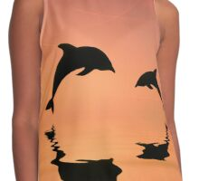 Dolphins Contrast Tank