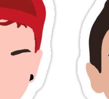 Josh&Ty Sticker