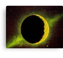 Shining Moon Canvas Print