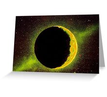 Shining Moon Greeting Card