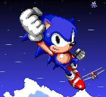 Sonic 2 Ending by James Hall