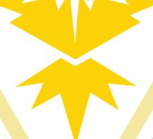 Team Instinct Pokemon GO Sticker