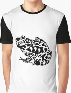 Tribal Frog Graphic T-Shirt