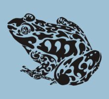 Tribal Frog One Piece - Short Sleeve