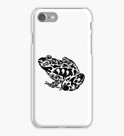 Tribal Frog iPhone Case/Skin