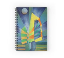 Junk By The Light Of The Silvery Moon Spiral Notebook