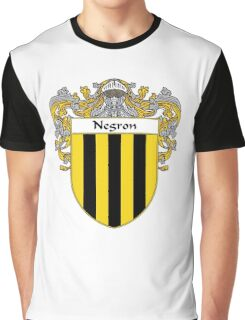 Negron Coat of Arms/Family Crest Graphic T-Shirt