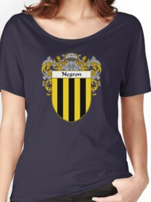 Negron Coat of Arms/Family Crest Women's Relaxed Fit T-Shirt