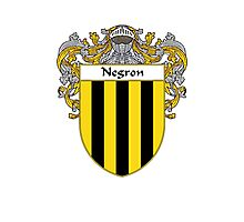 Negron Coat of Arms/Family Crest Photographic Print