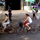 Bicycles/Chinese way of life by Nancy Richard