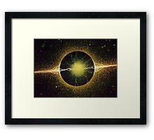 Atomic Spark Framed Print