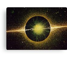 Atomic Spark Canvas Print