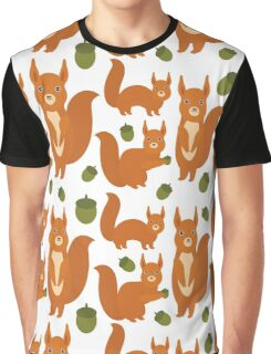 Red Squirrels Graphic T-Shirt