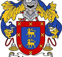 Navarro Coat of Arms/Family Crest by William Martin