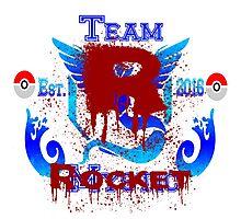 Team Rocket (Mystic) Photographic Print