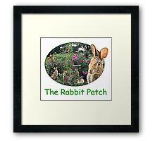 The Rabbit Patch Framed Print