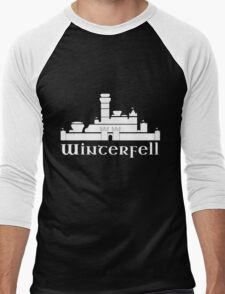 Castle of Winterfell Men's Baseball ¾ T-Shirt