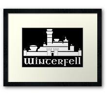 Castle of Winterfell Framed Print