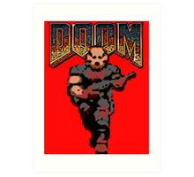 Doom Game Art Print
